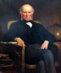A painting of William Pengelly