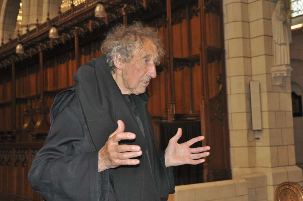 Fr Christopher Delaney who led the guided tour of Buckfast Abbey during the Devonshire Association's annual conference 2017