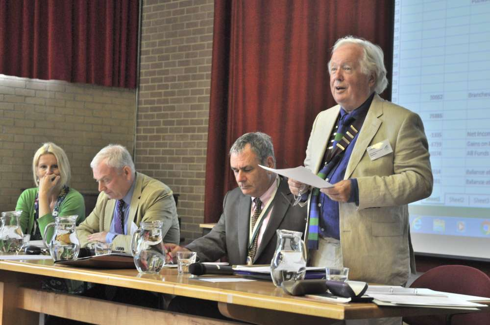 The Devonshire Association's AGM