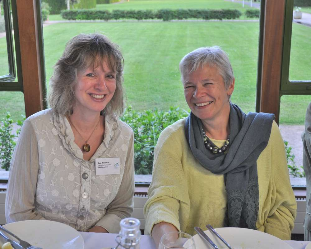 The Devonshire Association's incoming Vice Chairman Dr Sue Andrew with incoming Executive Committee Member Dr Jenny Bennett