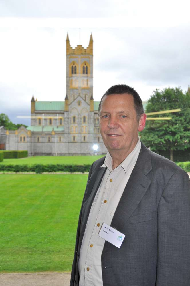 Stewart Brown, who gave the public lecture at the Devonshire Association's 2017 Conference at Buckfast Abbey