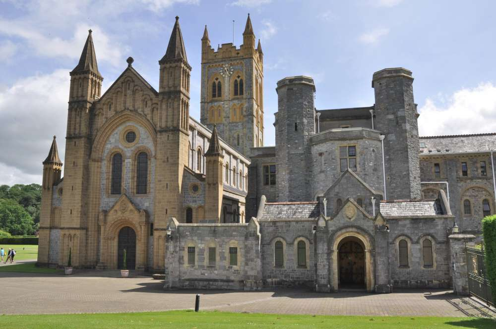 Buckfast Abbey Church and Guest Hall