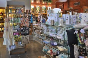 Interior of Buckfast Abbey shop