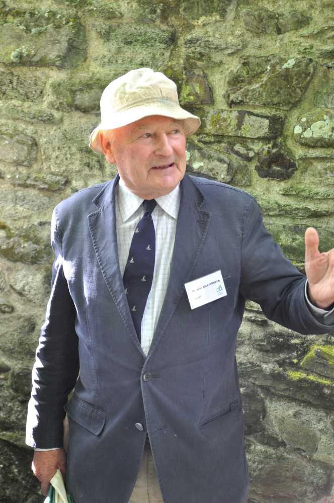 John Killingbeck, chairman Tavistock Branch, Devonshire Association
