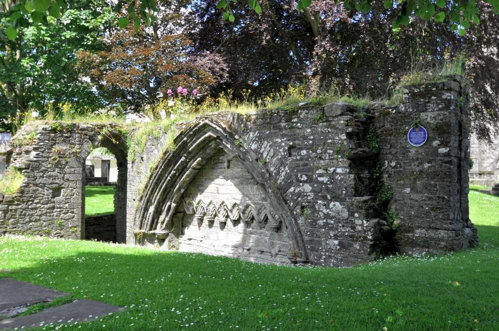 Benedictine Abbey ruins Tavistock
