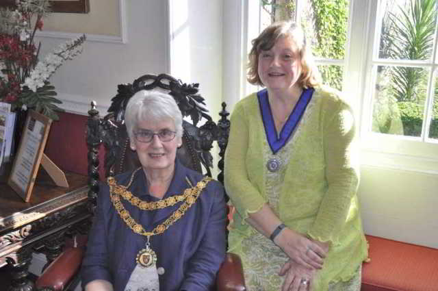 Mayor and Deputy Mayor of Tavistock