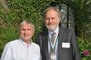 DA Presidents, Dr Chris Cornford and Dr Tom Greeves