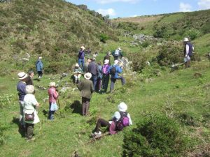 Devonshire Association field trip on Dartmoor