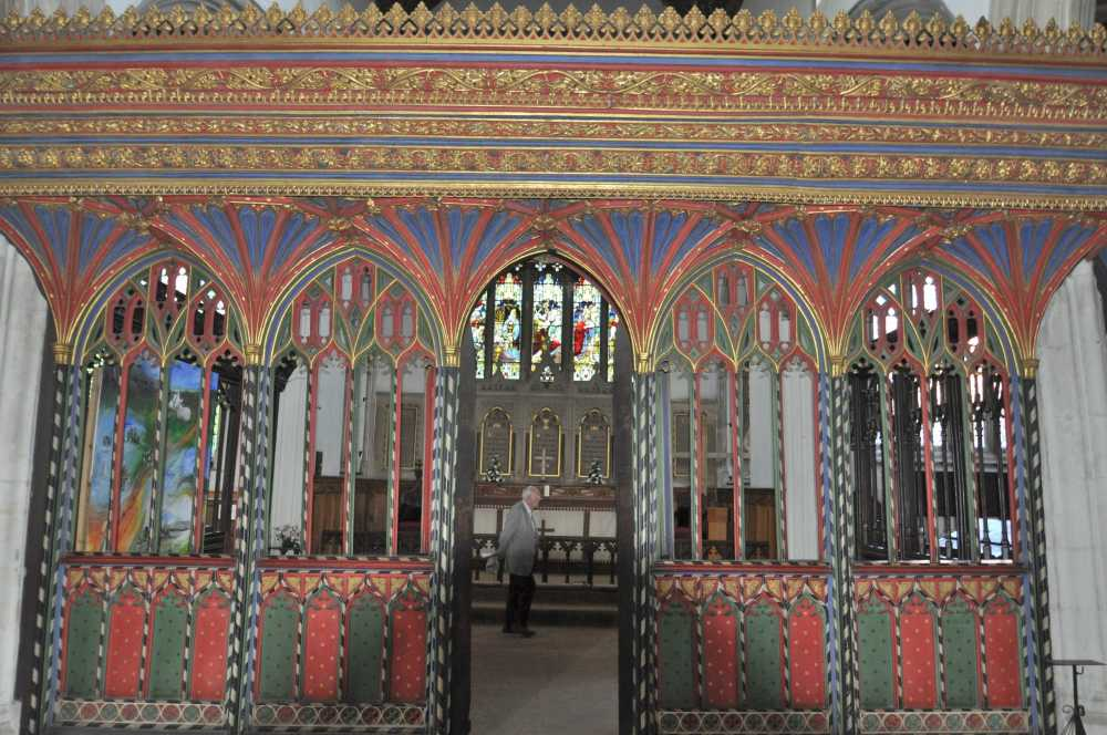 Rood-screen, St Andrew's Church, Cullompton