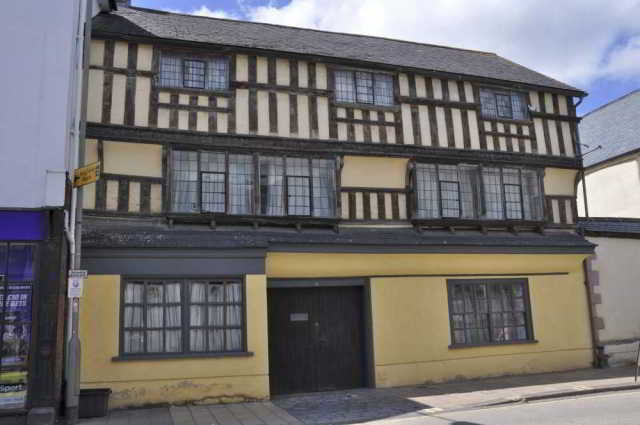 A 17th century house, Cullompton