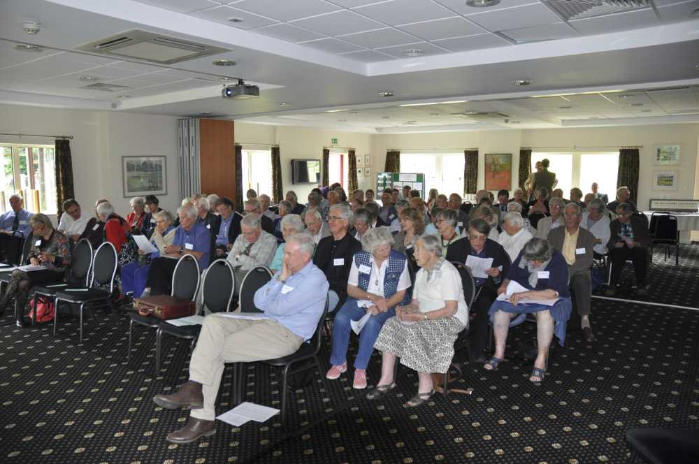 Participants at Devonshire Association 2014 Conference