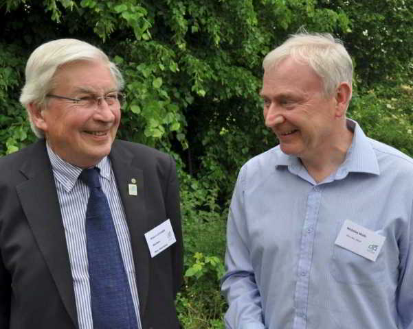Bob Letcher and Nick Wells, DA Hon. Secretaries