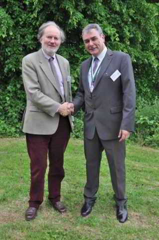 DA Presidents Dr Tom Greeves and Dr Todd Gray MBE