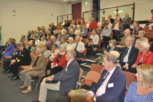audience at Devonshire Association symposium