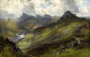 Frederick Widgery Dartmoor painting