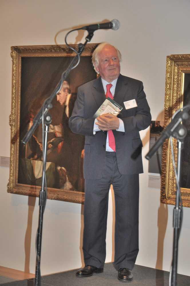 DA Chairman Peter Beacham OBE