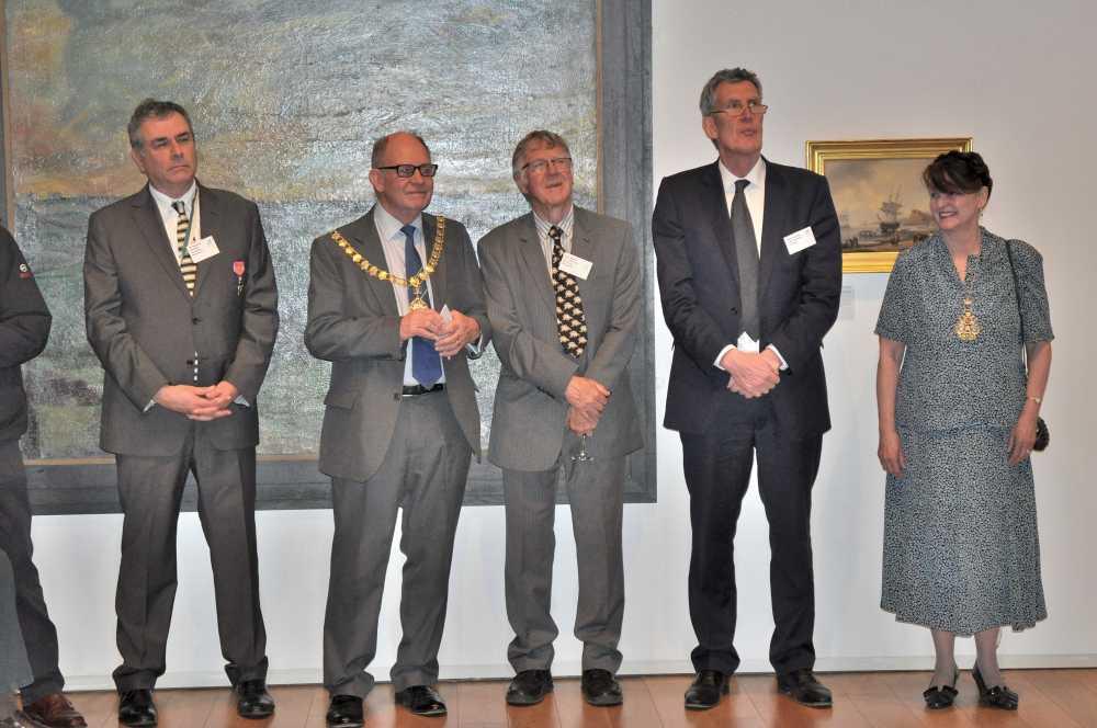 speakers at the Devon-Newfoundland reception