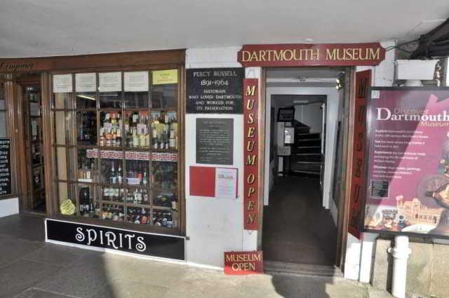 Dartmouth Museum entrance