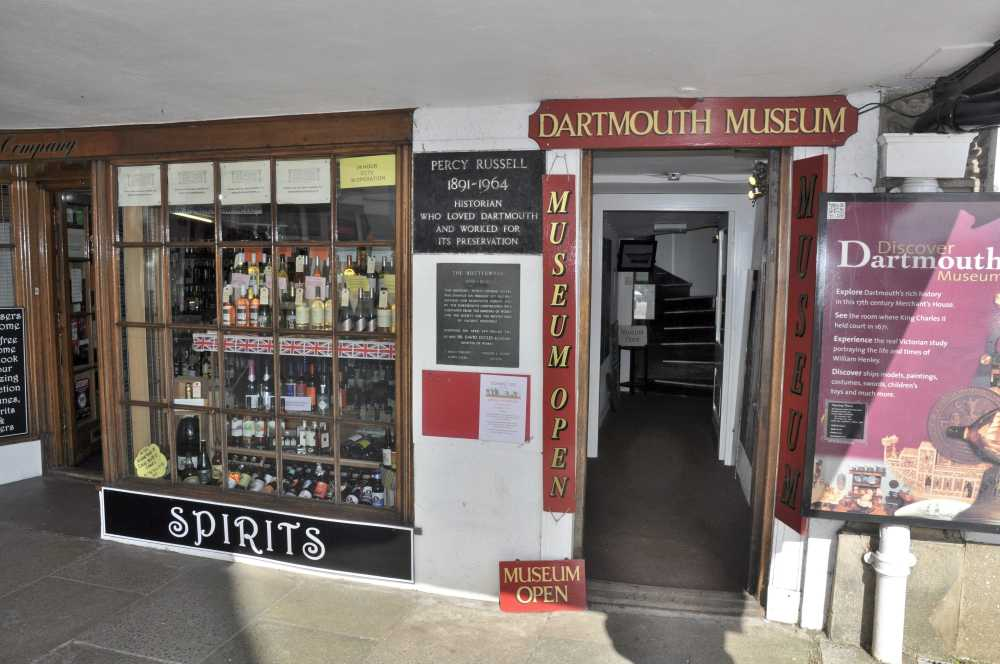 Dartmouth Museum entrance