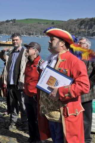 Heritage Forum speaker Dr Jonathan Roper (left)