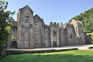 Compton Castle, the seat of Sir Humphrey Gilbert