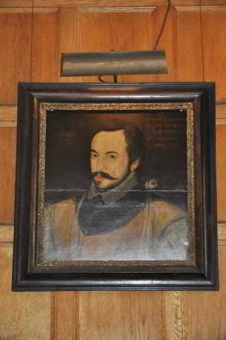 Portrait of Sir Humphrey Gilbert, Compton Castle