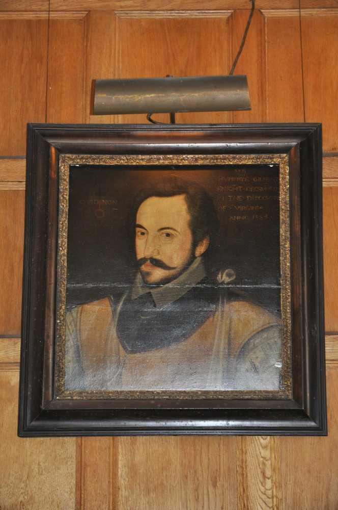 Portrait of Sir Humphrey Gilbert, Compton Castle