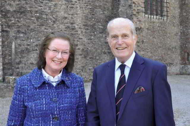 Angela and Geoffrey Gilbert