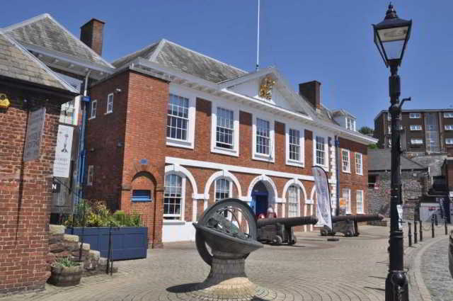 Custom House, Exeter Quay