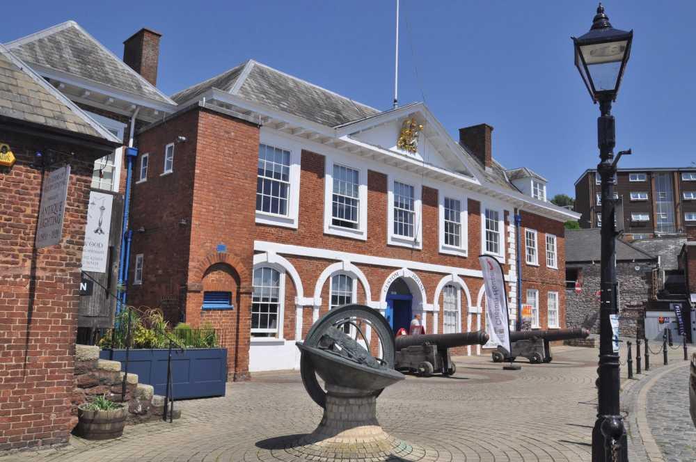 Custom House, Exeter Quay