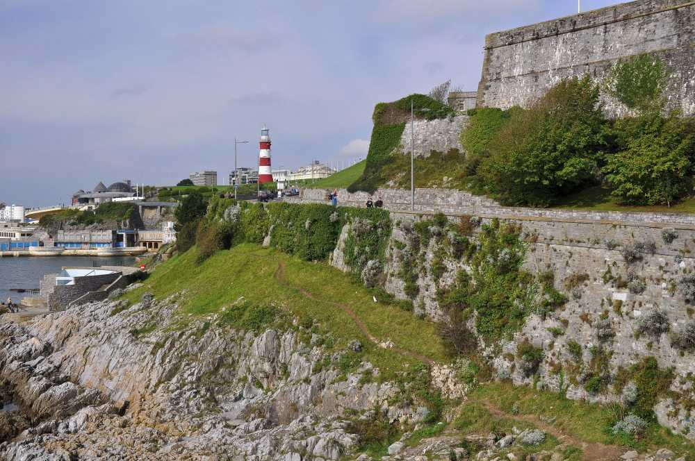 The Citadel and Smeaton's Tower, Plymouth