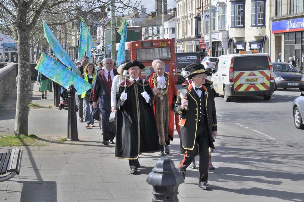 Mayoral procession, Bideford
