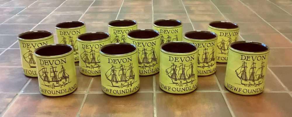 souvenir mugs for DA's Devon-Newfoundland event