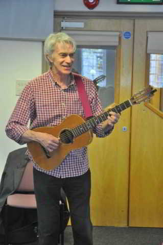 Paul Wilson at DA's Devon Newfoundland Story