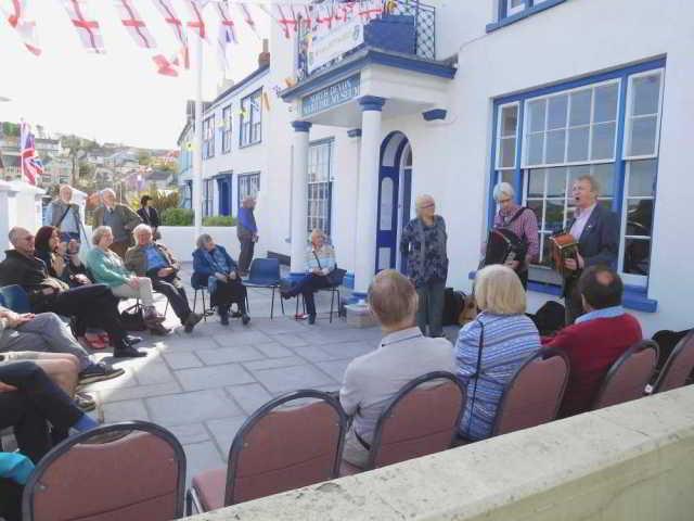 folk music at North Devon Maritime Museum for DA's Devon Newfoundland Story