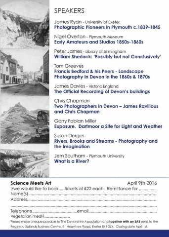 DA Symposium 2016 - Science meets Art