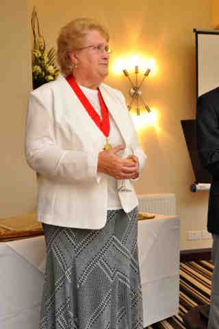 Mayor of Barnstaple, Cllr Mrs Val Elkins