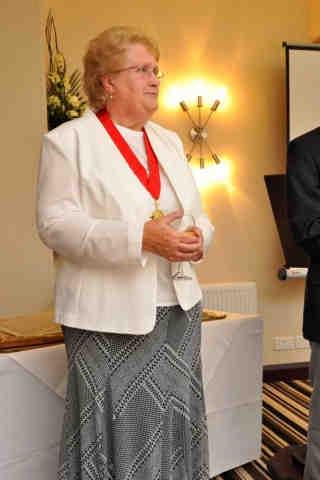 Mayor of Barnstaple, Cllr Mrs Val Elkins