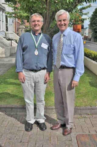 DA Presidents Andrew Cooper and Dr Chris Cornford