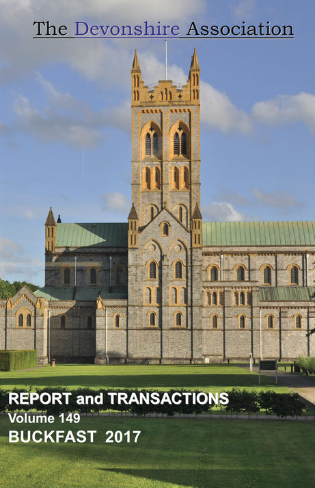 Cover of DA's Report and Transactions 2017