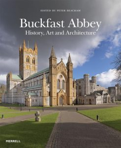 Cover of Buckfast Abbey book, published 2017. Edited by Peter Beacham, DA Chairman