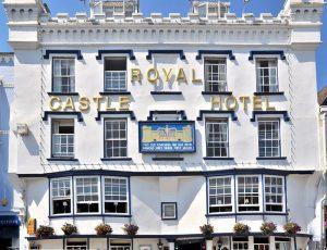 Royal Castle Hotel, Dartmouth. Venue for DA's annual conference 2018