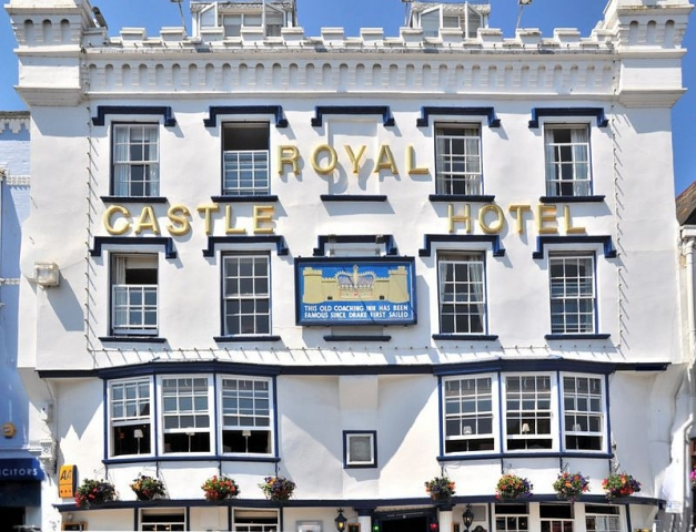 Royal Castle Hotel, Dartmouth. Venue for DA's annual conference 2018