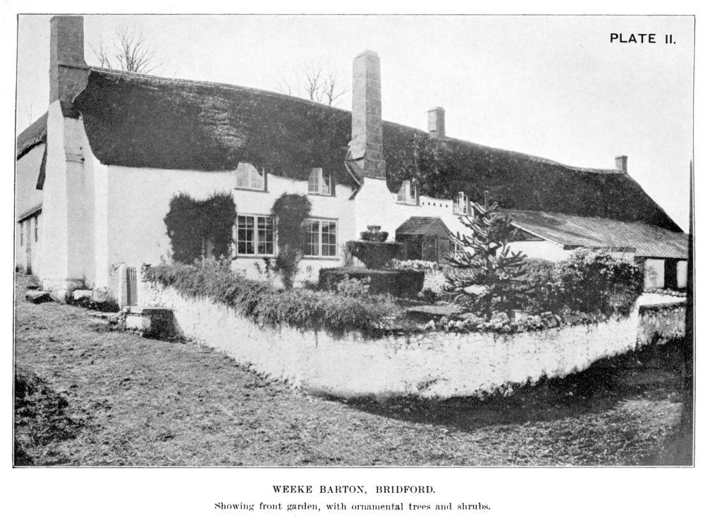The Old Devon Farm House Part I 1920 The Devonshire