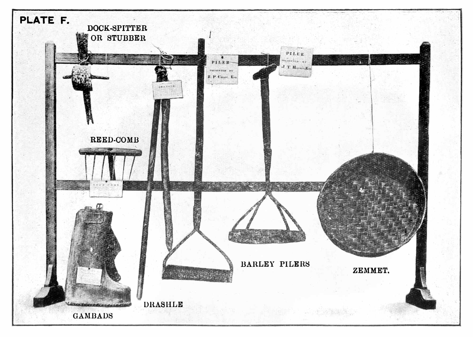 Some Old Farm Implements and Operations (1918) – The