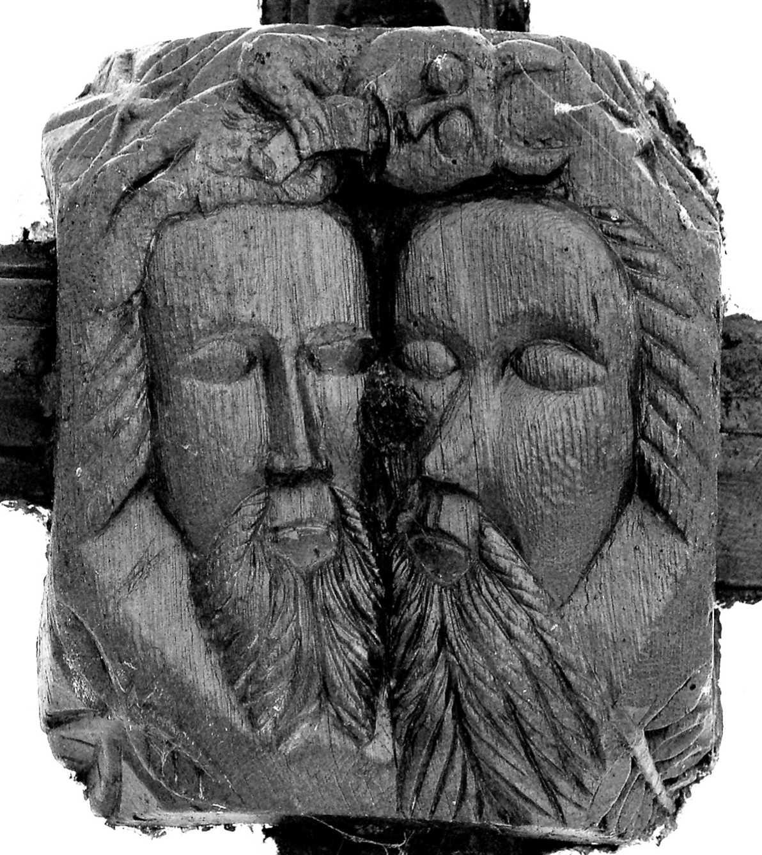 Facing sin late medieval roof bosses in ugborough church devon