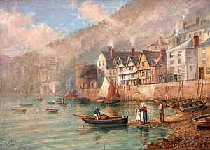 Bayard's Cove, Dartmouth by William Hopkins Way