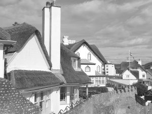 Cottages, Peak Hill, Sidmouth, Devon