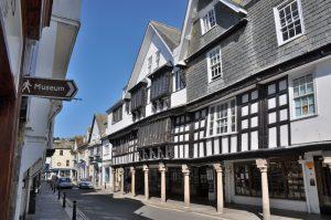The Butterwalk and Museum, Dartmouth, Devon