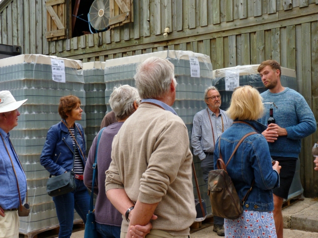 The Devonshire Association visit to Sharpham Vineyard in June 2018